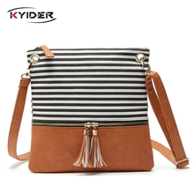 KYIDER Crossbody Bags For Women Brands Shoulder Messenger Bags Artificial Leather Purses And Handbags Female Small Bag Tassel недорго, оригинальная цена