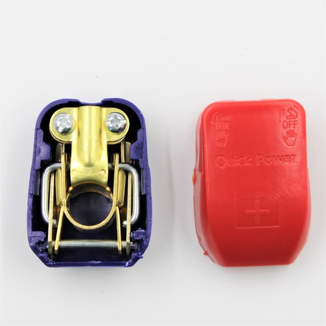 Pure Copper Car Battery Terminals Connector Clamps Quick Release