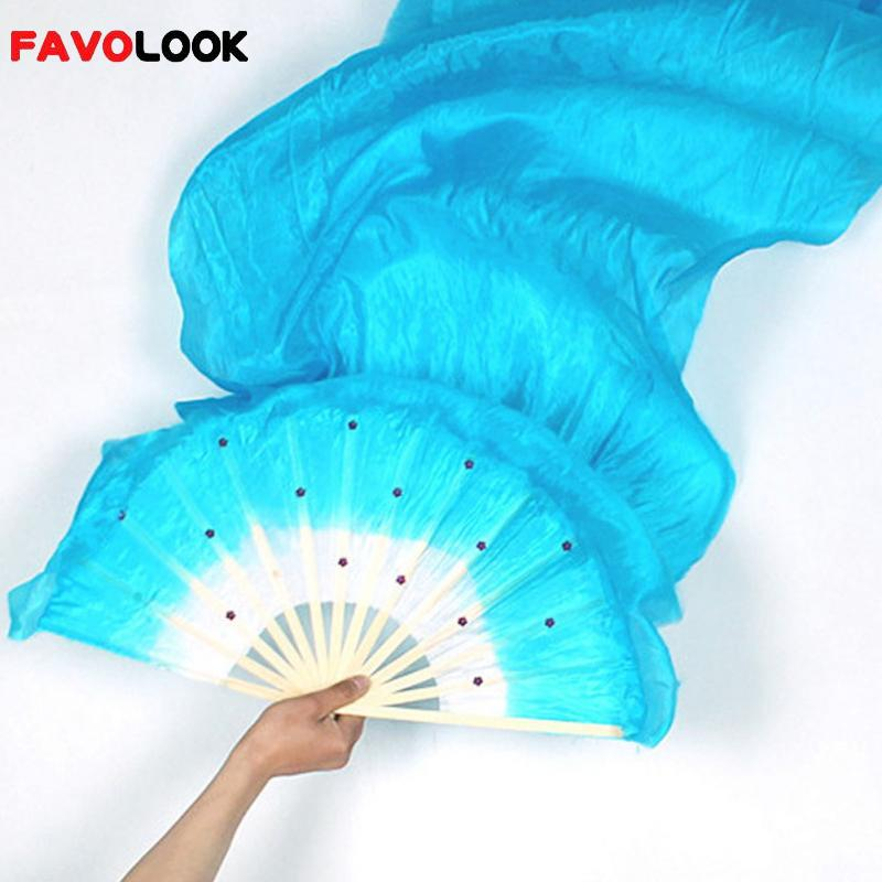 Hot Selling Colorful Hand Made Women Belly Dancing Fans -2714