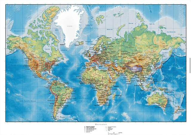 Online shop customize 3d detailed world map wallpaper mural customize 3d detailed world map wallpaper mural wallpaper bedroom television sofa children room background wall wallpaper gumiabroncs Choice Image