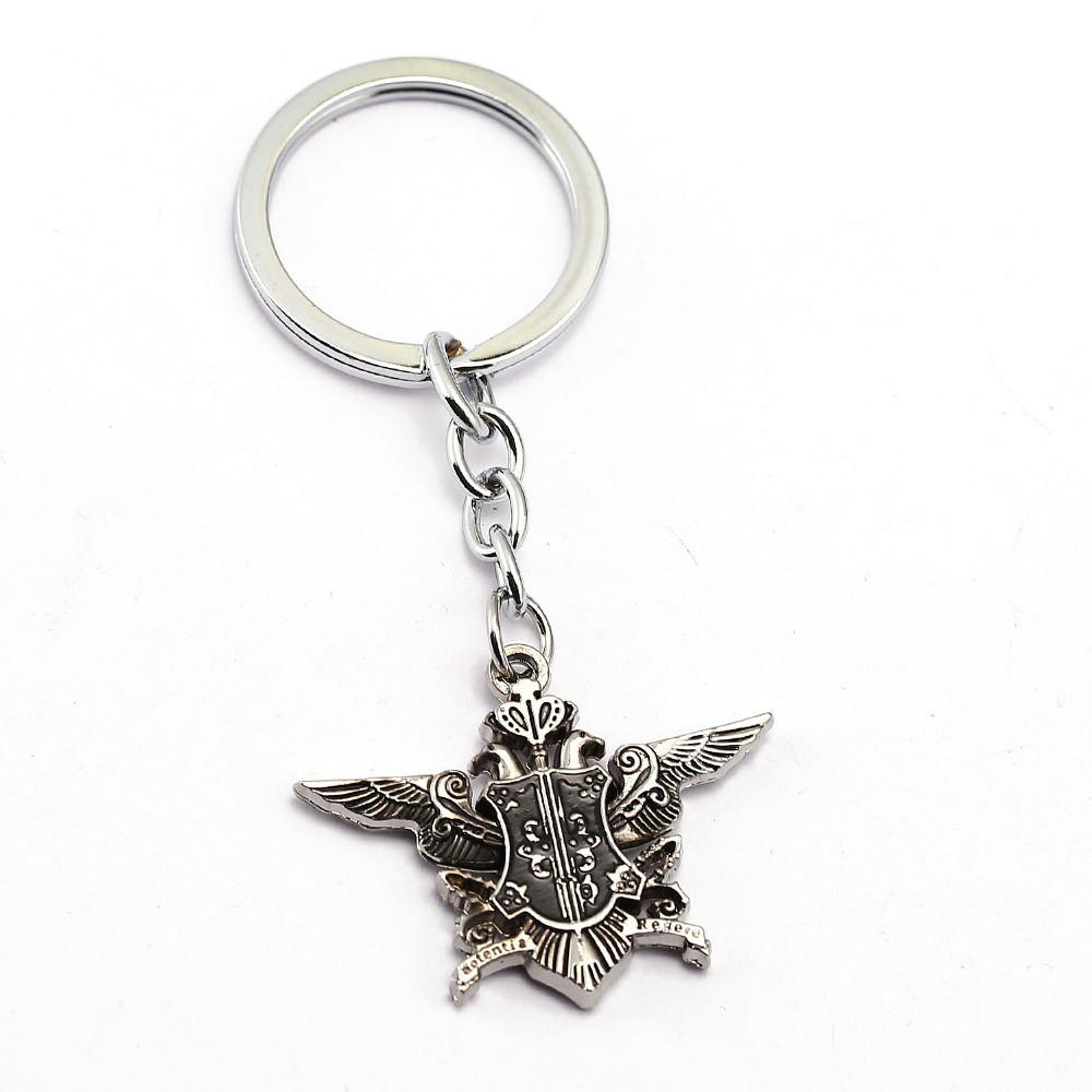 Julie Black Butler Keychain for Car Ciel Demon Eye Ciel Blue Crystal Ciel Sebastian Deed Key Chain Ring Holder Chaveiro JJ10361