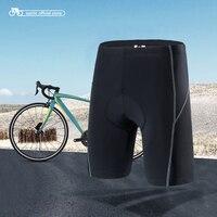 Santic Men Cycling Shorts Coolmax 4D Pad Shockproof SANTIC R-FEEL Anti-pilling SANTIC AIRFREE S-XXXL W7C05090