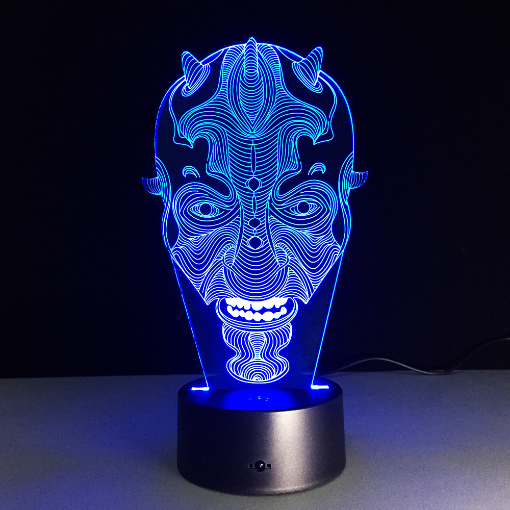 Usb Led Novelty 3d Light Fixtures Luminaria De Mesa Usb Led 3d Lamp Closet Night Battery Lamp Motion Nightlight Baby