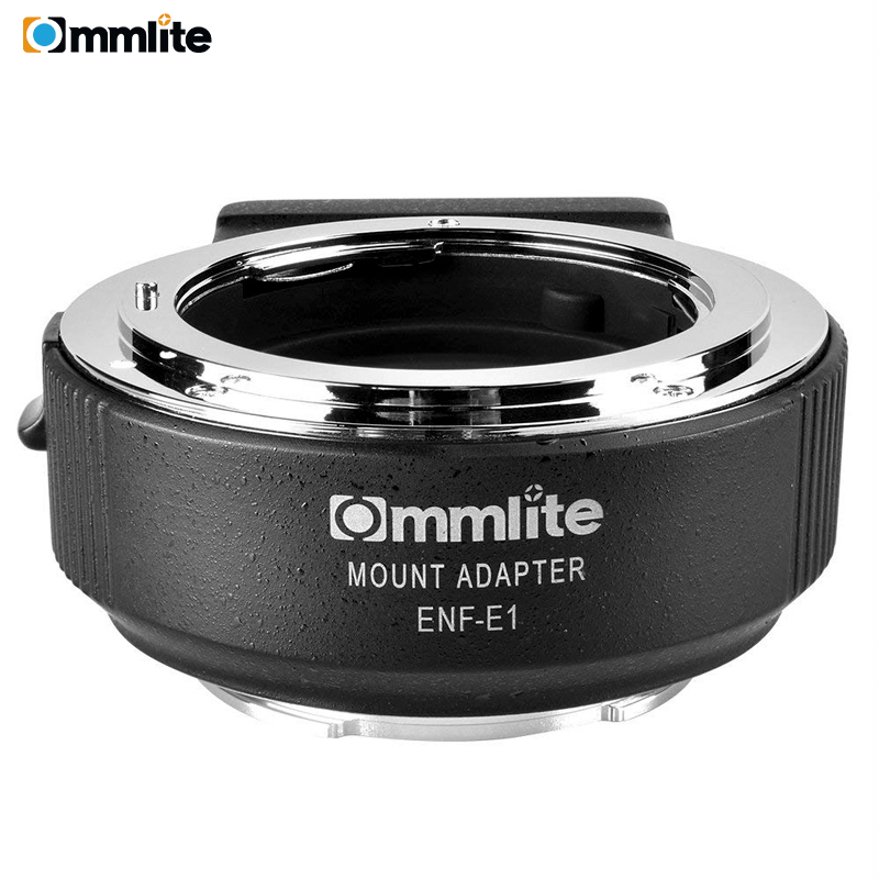 Commlite CM-ENF-E1 PRO Electronic AF Lens Mount Adapter For Nikon F Lens To Use For Sony E Mount A9 A6300 A6500 A7RIII A7RII