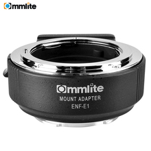купить Commlite CM-ENF-E1 PRO Electronic AF Lens Mount Adapter for Nikon F Lens to use for Sony E Mount A9 A6300 A6500 A7RIII A7RII по цене 19226.73 рублей