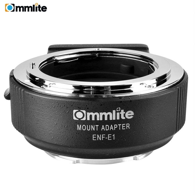 Commlite CM ENF E1 PRO Электронный Автофокус Крепление объектива адаптер для Nikon F Крепление объектива для использования для sony E крепление камеры