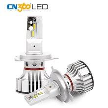 CN360 2PCS Led Auto Bulbs H4 HB2 9003 Car font b Lamp b font Super Bright