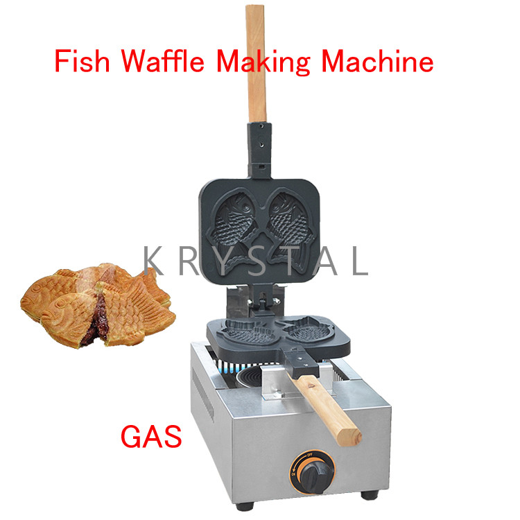 все цены на Fish Waffle Making Machine Taiyaki Baker Mini Household Donut Maker Fish cake pancake machine FY-1105.R