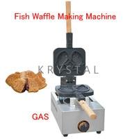 Fish Waffle Making Machine Taiyaki Baker Mini Household Donut Maker Fish cake pancake machine FY 1105.R
