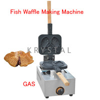 Fish Waffle Making Machine Taiyaki Baker Mini Household Donut Maker Fish cake pancake machine FY 1105.R