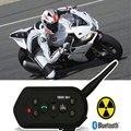 Домофон EJEAS E6 Plus для мотоцикла  коммуникатор на шлем с Bluetooth 1200 м  гарнитура VOX с пультом дистанционного управления для 6 человек