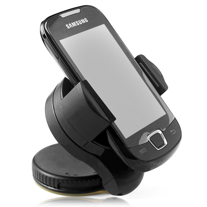 Universal 360degree spin Car Windshield Mount cell mobile phone Holder Bracket stands for iPhone5 4S for samsung Smartphone ZK93 360 degree rotation universal car windshield swivel mount holder bracket for smartphone black