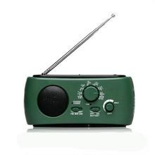 Manual de Geração de Energia Solar Rádio Lanterna LED de Carregamento Do Telefone Móvel Multifuncional Viagem Passeio Noite Camping Rádio FM Casa