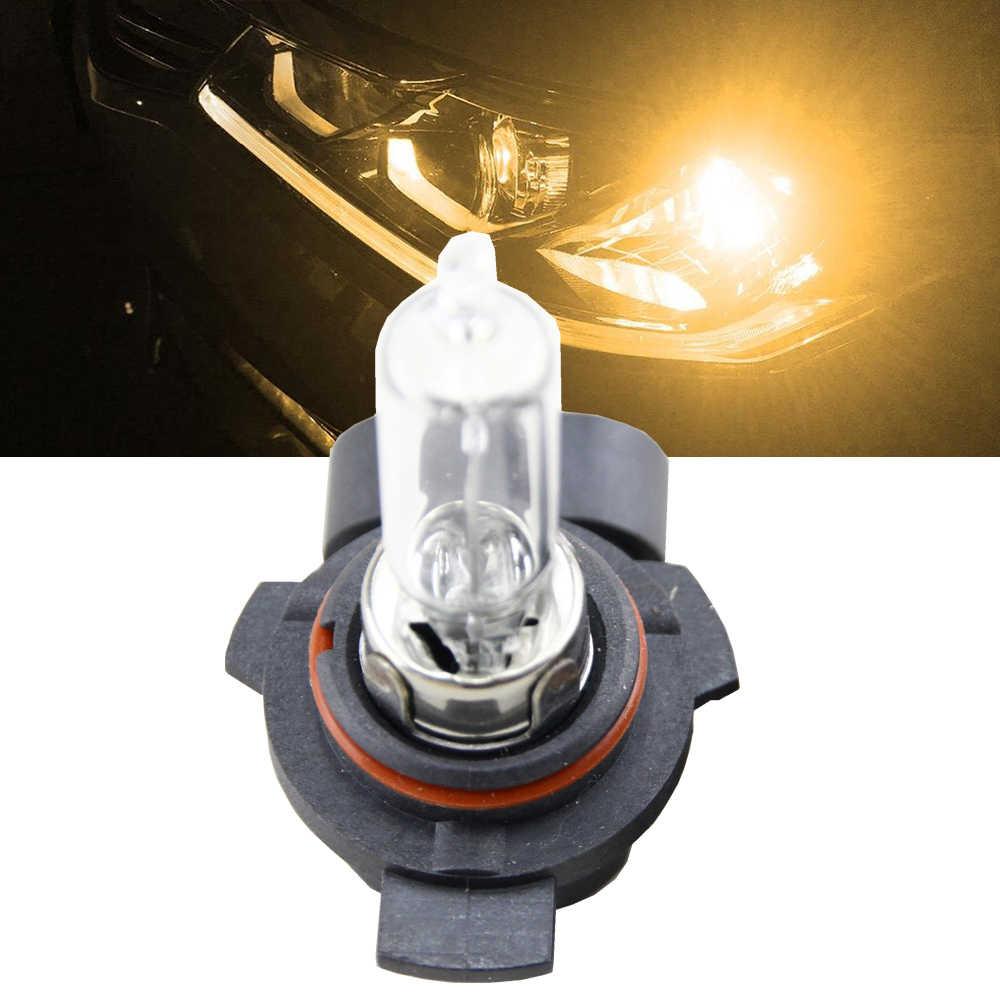 1x في Canbus 9012 HIR2 الهالوجين مصابيح كهربائية 55W 4300K الأصفر سيارة الداخلية مصباح أضاءه أمامي 9012 HIR2 PX22d استبدال مصابيح الهالوجين