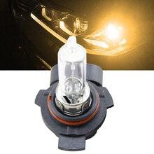 1x Canbus 9012 HIR2 Halogen Light Bulbs 55W 4300K Yellow Car Interior Headlight Bulb 9012 HIR2 PX22d Replacement Halogen bulbs