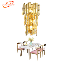 Modern Wall Lamp Crystal Wall Lamp Modern Crystal Wall Sconce Light for Home Hotel Restaurant Living Dining Room Decoration