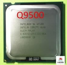Intel Core 2 Quad Q9500 מעבד מעבד (2.83Ghz/ 6M /1333GHz) socket 775 שולחן עבודה מעבד (עבודה 100% משלוח חינם)