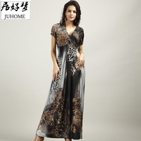2017 Big Large Plus Size Women Clothes Sexy Maxi Long Summer Dress Tunic Sundress Boho Beach