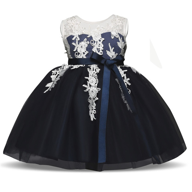 Elegan Bunga Gadis Gaun Bayi Gaun Pesta Anak-anak Untuk Gadis Pakaian anak- anak 7de3428d0b