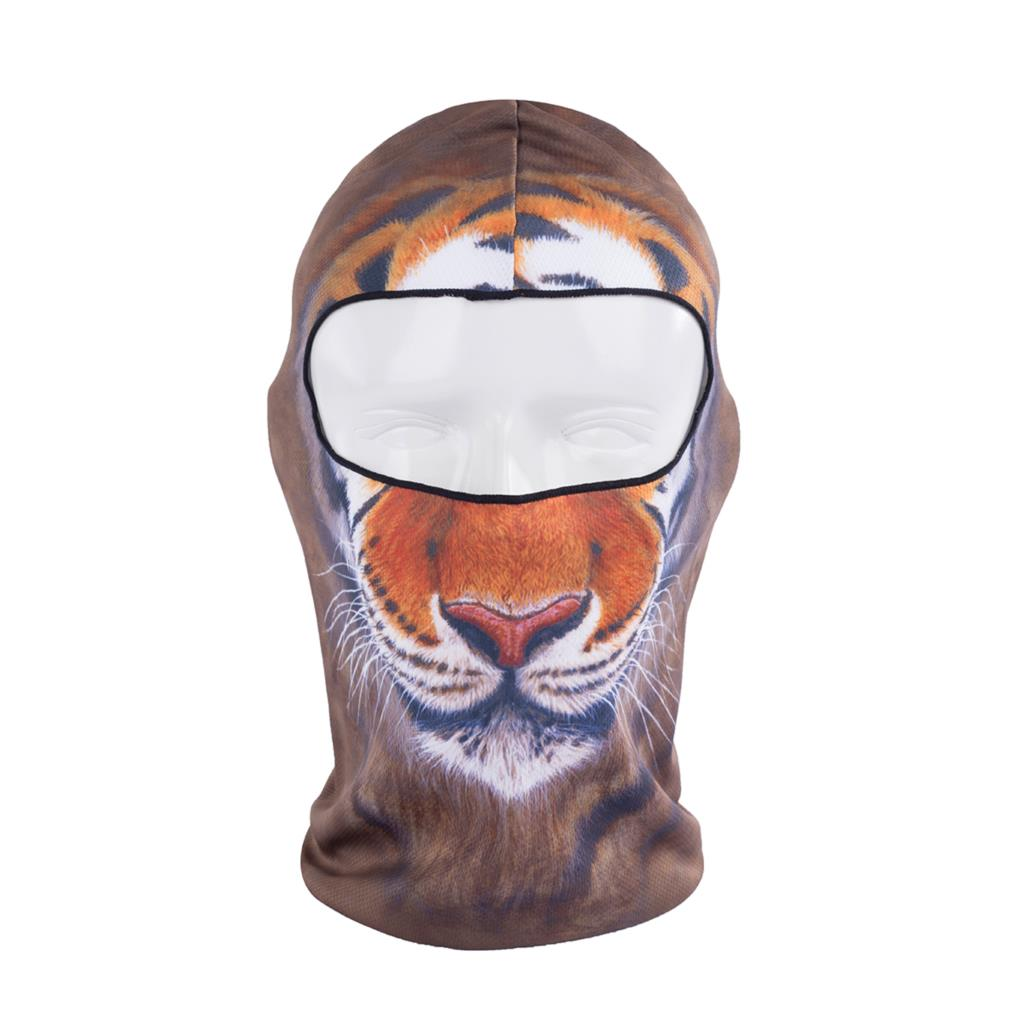 2016 Hot Sale 3d Tiger Animal Active Outdoor Sports Bicycle Cycling Motorcycle Masks Ski Hood Hat