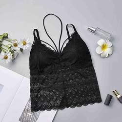 2019 Новая женская летняя одежда Топ кружевной ремень обертывание груди рубашка Топ Дамы