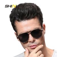 vintage oval sunglasses wood laminited retro women sunglasses new fashion brand designer sun glass polarized SH73001