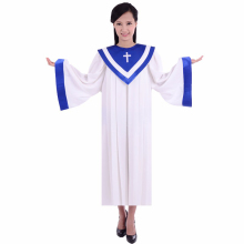 Jesus Service Wear Holy Nun Costume Church dress USA & Europe style poetry choir High quality garment