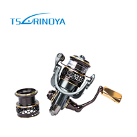 TSURINOYA Fishing Reel Double Spool 9 1 Bearing Ratio 5 2 1 Baitcasting Reel Moulinet Jaguar1000