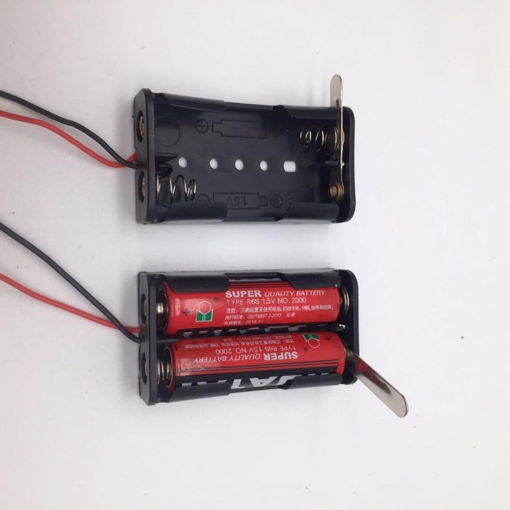 AA x 4 Battery Holder Box Case PCB Mount