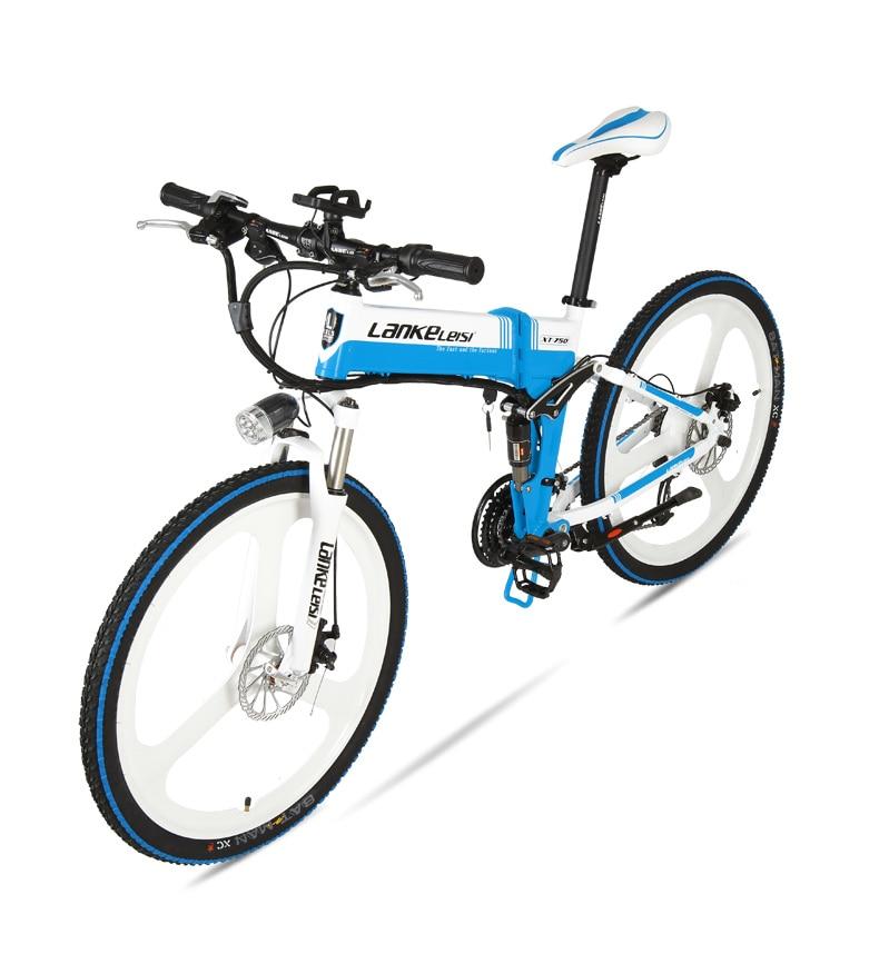 "HTB17906huEJL1JjSZFGq6y6OXXaK - XT750D 27 Velocity 500W Tremendous Energy Excessive High quality 26"" Foldable Electrical Bicycle, 36V/48V Hidden Lithium Battery Mountain Bike MTB"