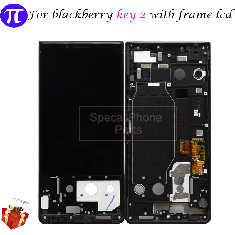 For blackberry Key 2 BlackBerry Key2 LCD BBF100 1 2 4 6 Display Touch Screen Digitizer