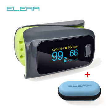 ELERA 10pcs/lot Finger Pulse Oximeter monitor ,Oximetro de dedo oximeter Spo2 Blood Oxygen saturation Body monitor oxymeter - DISCOUNT ITEM  5% OFF All Category