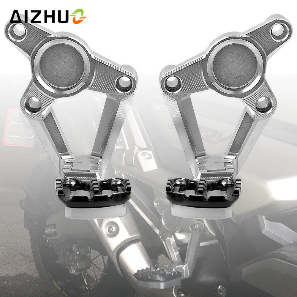 For HONDA X ADV XADV X-ADV 750 2017 2018 Motorcycle Accessories Folding Rear Foot Pegs Footrest Passenger Rear foot Set цены онлайн
