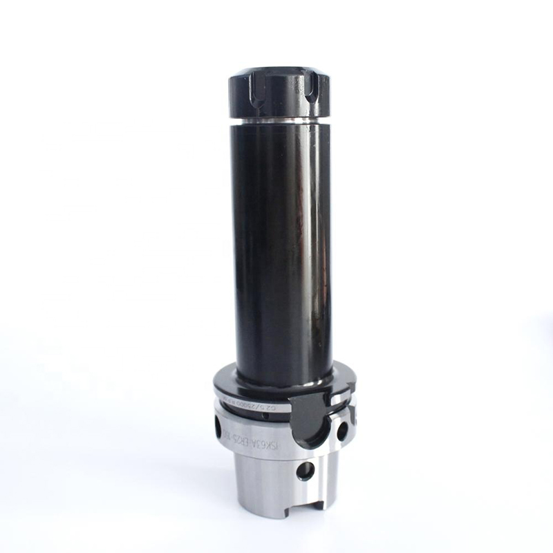 High speed collet chuck <font><b>HSK63A</b></font> ER16 ER20 ER25 ER32 HSK63 A 100L 150L tools lholder for CNC machine center milling image