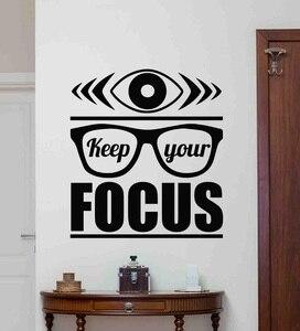 Image 1 - Autocollants muraux en vinyle inspirants pour bureau, décoration commerciale pour maison, 2BG8