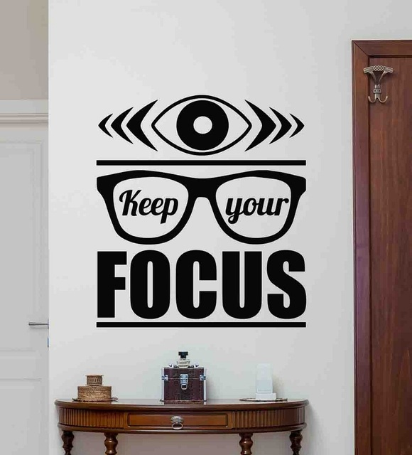 Autocollants muraux en vinyle inspirants pour bureau, décoration commerciale pour maison, 2BG8