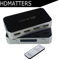 3D HDMI Switcher 4X1 HDMI Switch audio switcher HDMI toslink/coaxial/aux audio output HDMI 1.4 support 3D 4kX2K