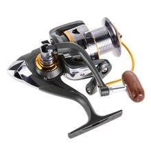 Nueva Promoción 11BB Rodamientos Speed Gear Carrete Spinning Carretes Carrete de la Pesca de Agua Salada Del Mar Envío Libre H1E1