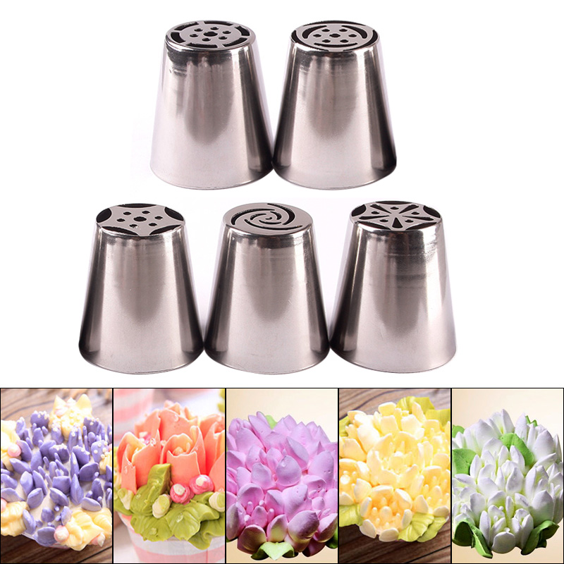 Russian Icing Piping Nozzles Tips Cake Decorating Pastry Baking Tool
