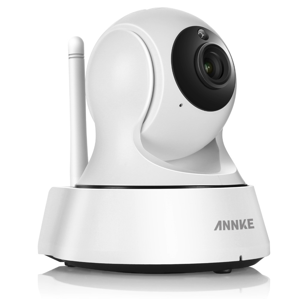 ANNKE 720P HD Wifi Camera Network Port Surveillance Night Camera Indoor Home P2P CCTV Camera Wifi Function Onvif Two-way Audio