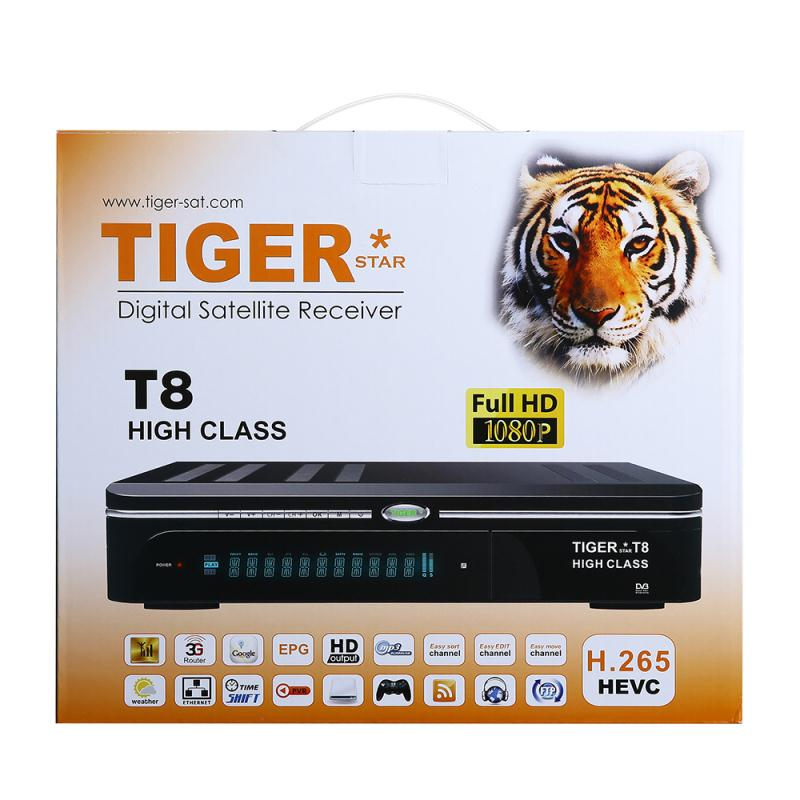 Tiger star t8 high class satellite receiver-in Satellite TV Receiver