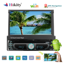 Hikity Autoradio Auto MP5 Player 7 pollici di Tocco di HD Screen AM FM Radio Bluetooth TF USB Specchio Funzione di Collegamento Auto multimedia Player