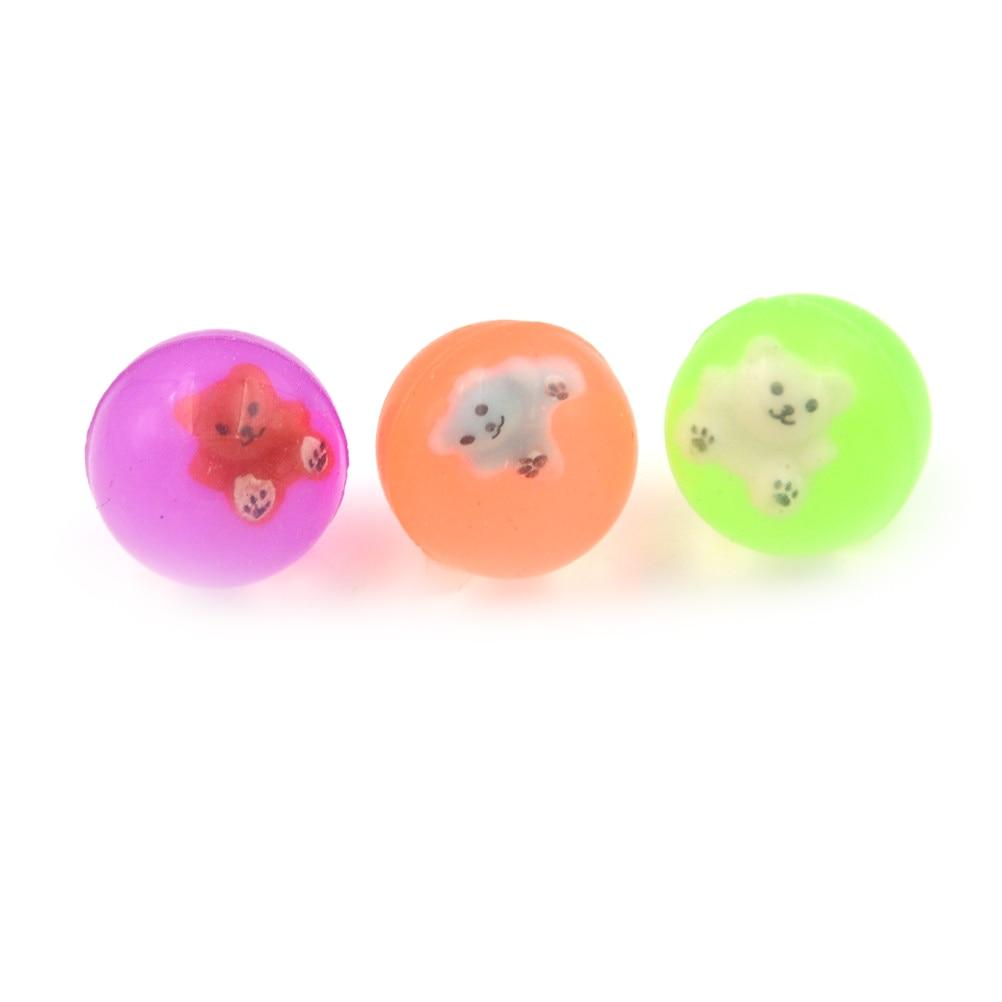 10 шт./пакет надувной мяч Высокое качество ребенок эластичный резиновый мяч дети пинбол 27 мм