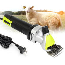 High Speed 350W Electric Sheep Shearing Clipper 6 Adjustable Shears Goat Hair Removal Trimmer Cutter Tools Parts