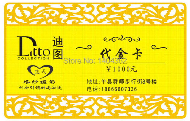 Image 3 - custom golden fancy borders Metal Business Card printing customized personal Visit/vip Card best quality for business card-in Business Cards from Office & School Supplies