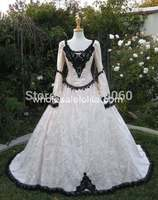 Gothic Fairy Medieval or Renaissance Style Fantasy Set with Cape and Overskirts Costume