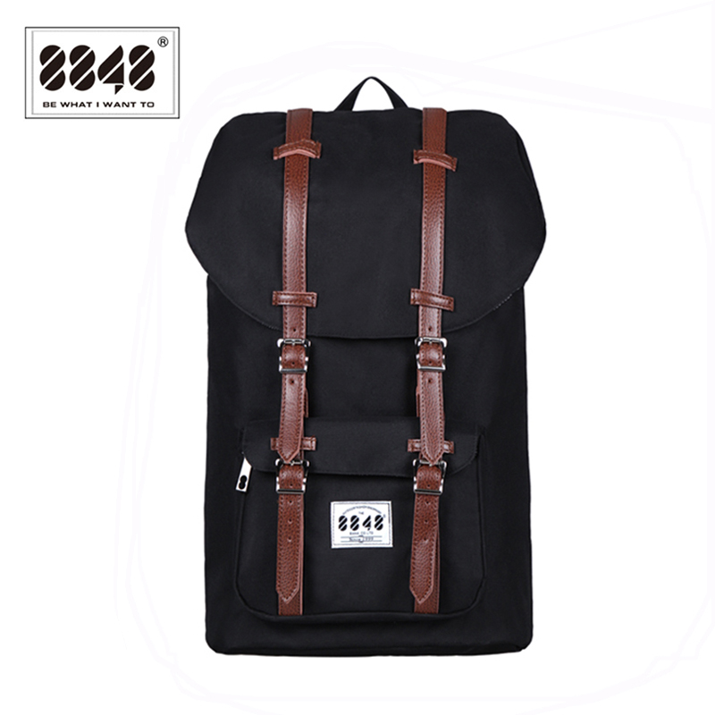 8848 Jenama Backpack Lelaki Backpack Backpack Backpack Waterproof Oxford Soft Back Male Besar Kapasiti 20.6 L Style Laptop SS006-2