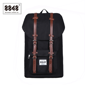 8848 Brand Backpack Men Backpack Travel Backpack Waterproof Oxford Soft Back Male Large Capacity 20.6 L Style Laptop SS006-2 2017 backpack male