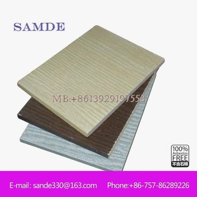 Exterior wall cladding profiles without any mold growth