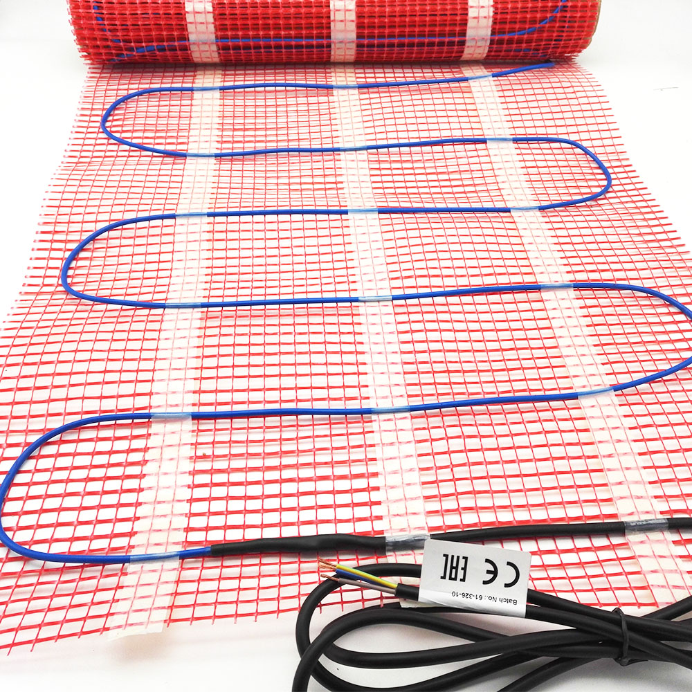 2.5m2 150w/m2 Electric Infrared Floor Heating Mat 50cmX5m 220V For Warm Floor Bathroom Floor with Thermostat